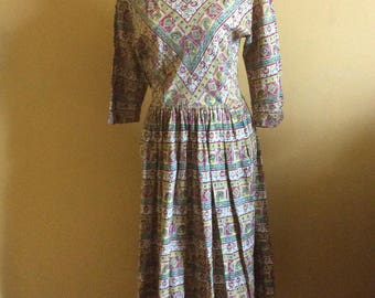 1950/60/70's Patio Dress