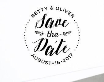 Save The Date Design O Wedding Monogram Logo DIY