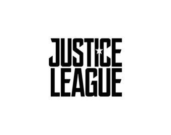 Justice League Decal, DC Comics, Justice League Decor, Nerd Gifts, Justice League