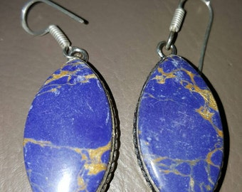 Mosaic Jasper Earrings!