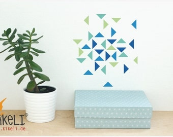 Wall triangles wall sticker furniture stickers - Valencia