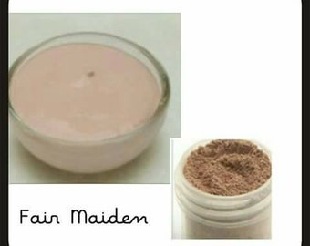Organic Liquid Mineral Foundation: Fair Maiden