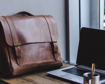 Leather laptop bag, Leather Messenger bag, satchel bag, leather bag, messenger bag for women , leather laptop bag, shoulder bag, mens bag