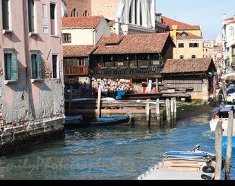Venice, Italy Gondolas Print