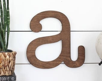 Farmhouse Letters* farmhouse letter* lowercase letter* typewriter letter* oversized letter* big letter* farmhouse style