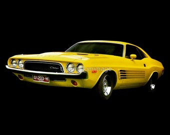 Dodge Challenger - Yellow