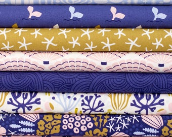 Underwater Collection - Cloud9 Fabrics - Fat Quarter or Half Yard Bundle