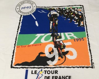 Le Tour De France 1995 T-Shirt Size XL