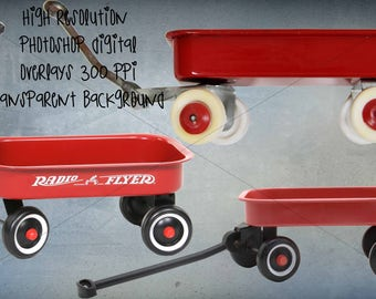 red wagon digital  overlays