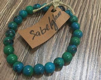 Turquoise Natural bead bracelet