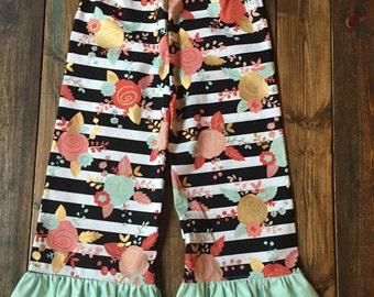 Single Ruffle Pants | 6m to 10y