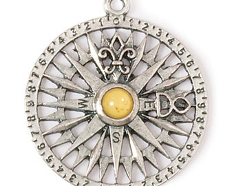 Compass Rose Pendant (STEAM054)