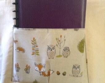 Woodland Pocket - Canvas Tote Bag