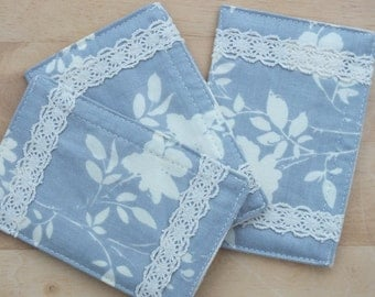 Refillable Drawer Sachets, 3 Fragrant Scent Packs, Scented Pouch.