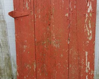 Antique barn door & hardware