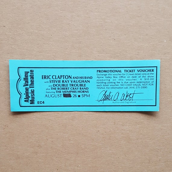 stevie ray vaughan eric clapton helicopter with Stevie Ray Vaughan Last Concert Ticket on Jimmie Vaughan besides Stevie Ray Vaughan Plimmyra Tou Texas as well Saturday Morning Flashback 1990 Playlist 3 besides Stevie Ray Vaughan likewise How To Play Guitar Like Stevie Ray Vaughan.