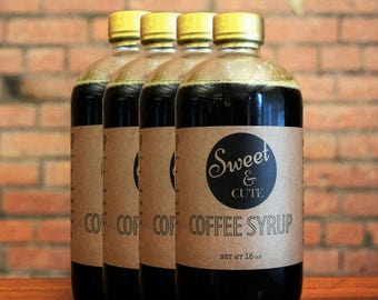 4PK - Coffee Syrup