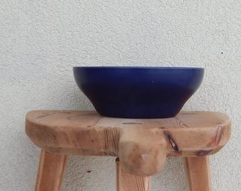 Scandinavian Vintage Höganäs Keramik Bowl Hoganas Ceramic Soup/ Ceral Bowl Spisa Lovisa Wattman Sweden Stoneware Höganas Hoganas Stoneware