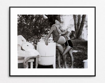 Sally Mann - Pregnant Leslie  - Vintage Book Page - At Twelve - Sally Mann Photo - Sally Mann Print - Pregnancy Art - Expecting Mother