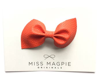 Brooke bow || Orange