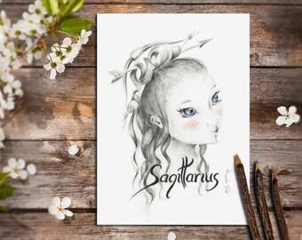 Astrology Art, Sagittarius Art, Sagittarius Constellation, Sagittarius Archer, Sagittarius Horoscope, Bow and Arrows, Sagittarius Star
