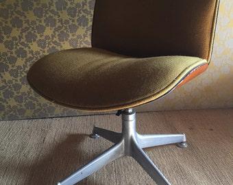 Chair desk IcoParisi original vintage 70 years for Mim