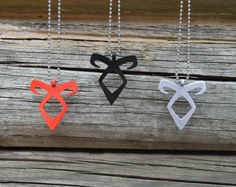 Shadowhunter Mortal Instruments Angelic Rune Necklace Pendant