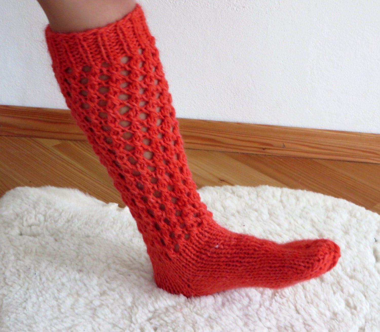 home made socks