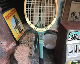 Vintage Dunlop tennis racket|Retro|England|Home decor|Gift