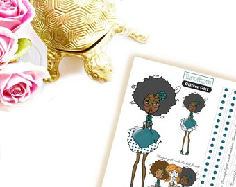 Larkyn | Mocha Latte | Stickers | Planner Printables