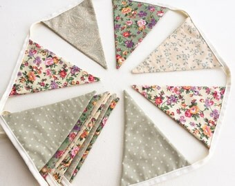 Custom Fabric Bunting - Made To Order