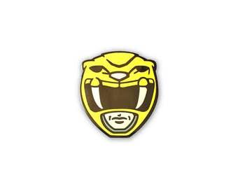 Yellow Power Ranger Enamel Pin