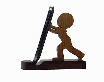 Phone stand wood, phone stand, Wooden phone stand, iphone stand, smartphone stand, ipad stand, tablet stand, handmade, wood stand