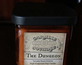 The Dungeon : Carmine Exclusive soy candle