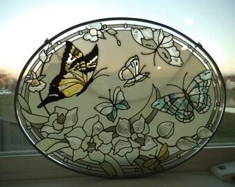 Glass Suncatcher - Hand Painted
