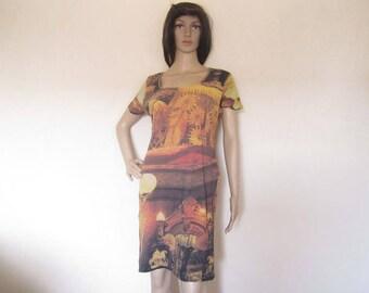 Vintage ethnic dress dress S M