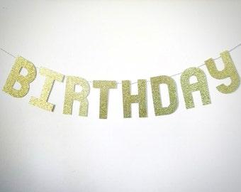 Custom banner. Gold letter banner for any event. Bridal shower, birthday, baby shower, party decor.
