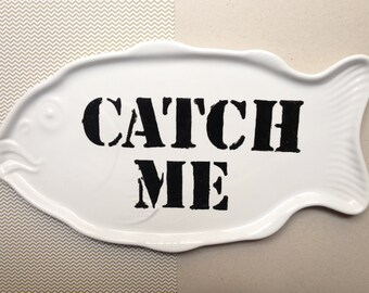 """""""Catch Me"""" collection serving dish"""