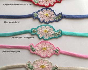 Daisy headband 8 available colors wearable as8necklace or belt