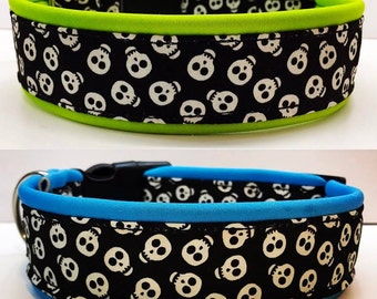 Neoprene Dog Collars / Angry Birds / Glowing Skulls / Flowers...