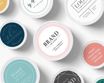 Custom Logo Stickers, Custom Logo labels, Custom Product Sticker, Round Custom Sticker labels, logo stickers, labels for bath, remade label