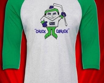 Chuck Canuck Vancouver Hockey Mascot 1960s-1970s