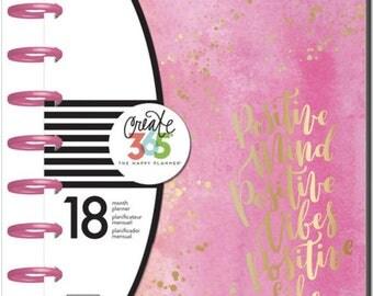 Create 365™ The Medium Happy Planner™, Live Loud