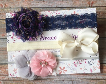 Baby Headbands/Baby Headband Set of 3/Baby Headbands/Newborn Headbands/Toddler Headbands/Baby Girl Headbands/Girls Headbands/Infant Headband