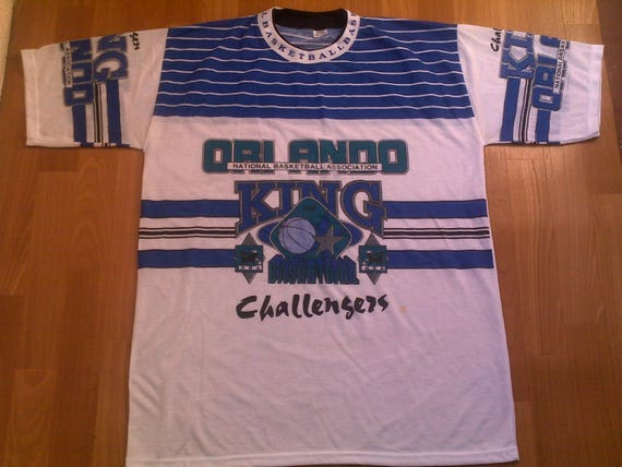 Official nba orlando magic jersey vintage t shirt of 90s hip for Old school basketball t shirts