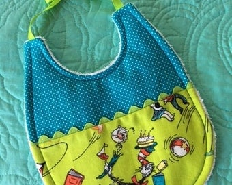 "Dr. Seuss' ""Cat in the Hat"" Baby Bib"