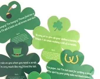 St Patrick's Day Game - Scavenger Hunt - St Patricks Day Printable - St Paddys Day - Printable Kids Activity - St Patricks Day Birthday
