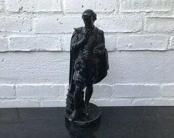 Metal Sculpture of William Shakespeare