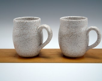 Ceramic Mugs -- Set of 2