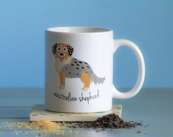 Australian Shepherd Mug (girl)